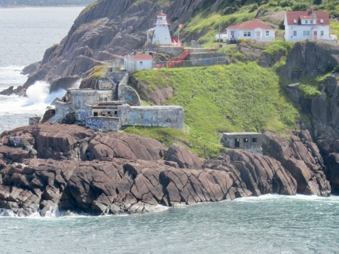 Close up of Fort Amherst