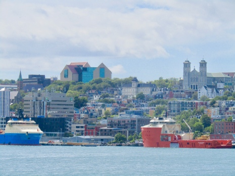 View of downtown from across the harbour