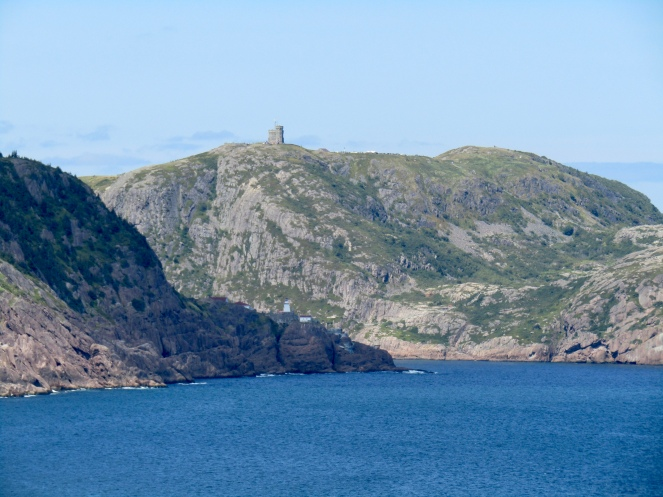 Signal Hill from Kelby Cove
