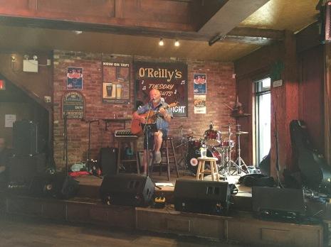 Local singer