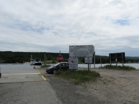 At the Englishtown Ferry