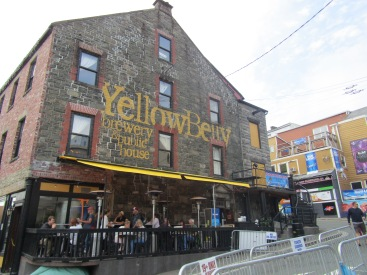 We had the BEST food this day at the YellowBelly Brewery!