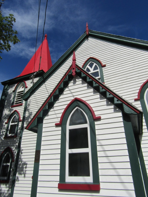 Church in Quidi Vidi