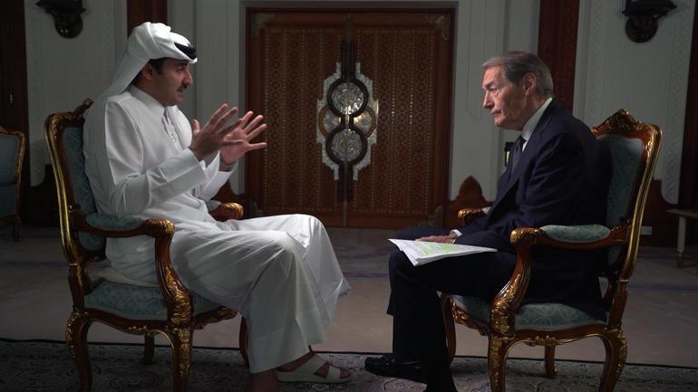 Sheikh Tamim interview