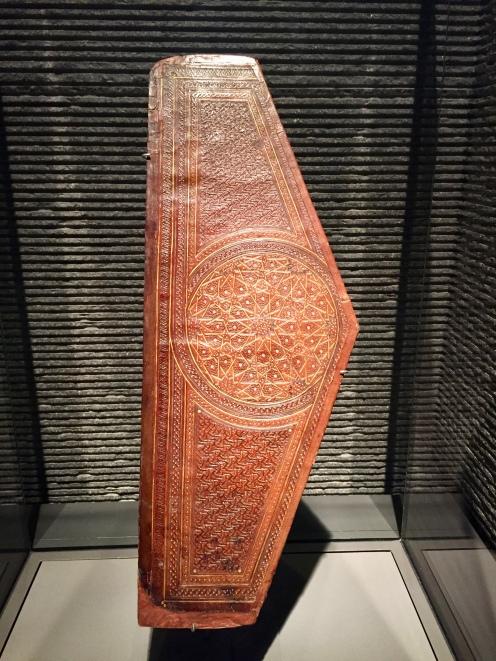 Book Binding Flap - Egypt - 14th Century
