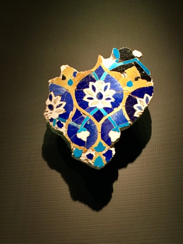 Mosaic Tile Panel Fragment - Iran or Central Asia - Early 15th Century