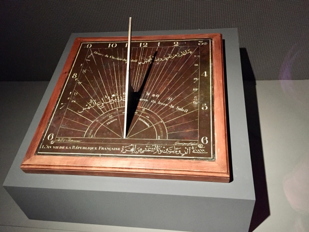Sundial - Signed by Nicholas Antoine Francois Nouet - France - 1798 AD