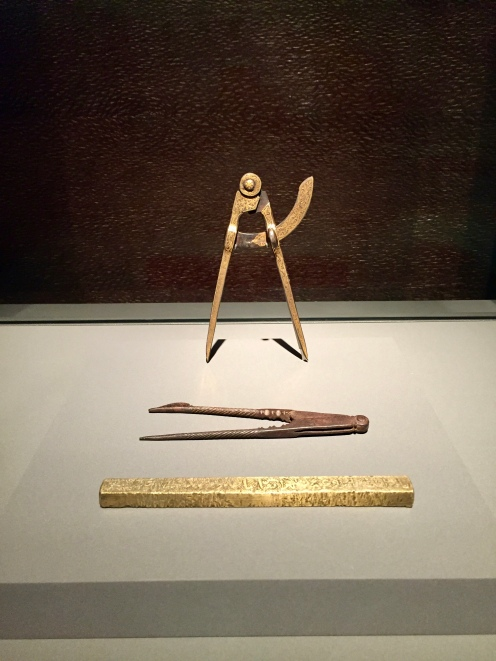 Compasses and Ruler - Turkey, Egypt. Syria - 19th Century