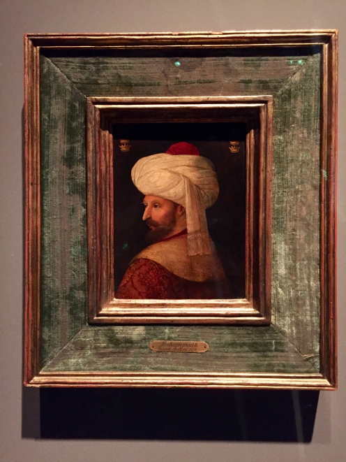 Portrait of Sultan Mehmed II - by a follower of Gentile Bellini - Italy - Early 16th Century