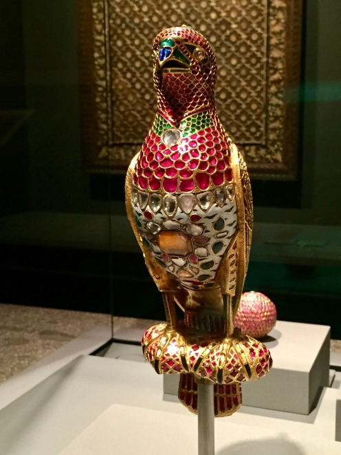 Jewelled Falcon - India - c. 1640