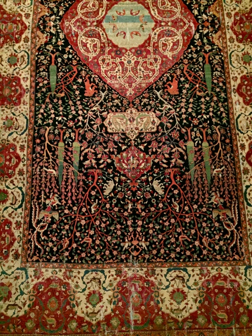 Carpet - (Known as The Schwarzenberg Carpet) Iran - 16th Century