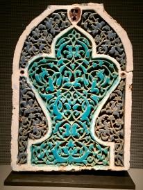 Tile Panel - Afghanistan or Uzbekistan, 14th-15th Century