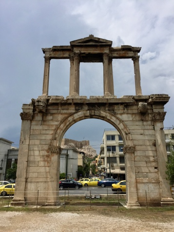 This is Hadrian's Arch