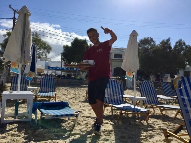 Beach service!