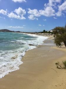 June, 2018 - Agios Prokopios, Naxos, Greece - Beach