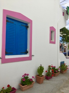 June, 2018 - Agios Prokopios, Naxos, Greece - Window