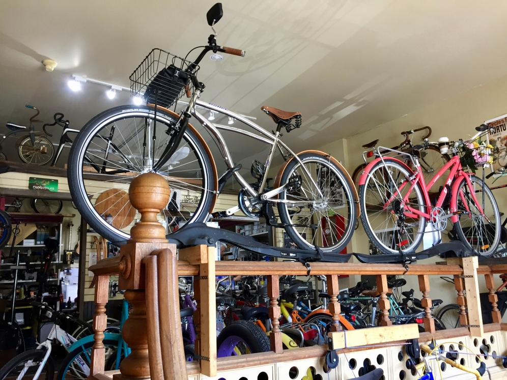 And there are bicycles you can rent!!!