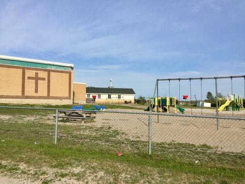 Michael's school from kindergarten to grade 8