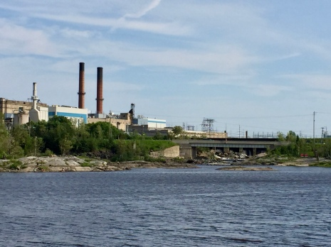 Kapuskasing's pulp and papar mill
