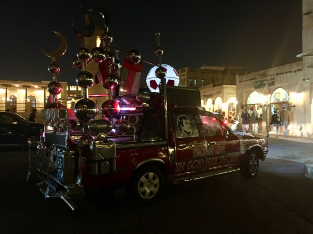 A Custom Made Qatar National Pride Truck!