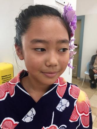 Iroha's hair
