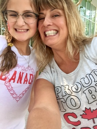 Fellow Nova Scotian Sophie and I