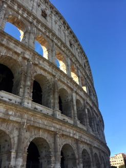 December 25th, 2018 - Rome, Italy – Christmas Day – The Colosseum