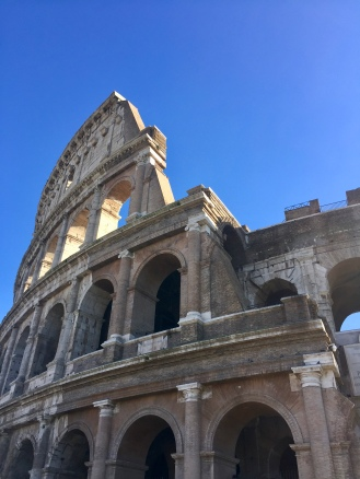 December 25th, 2018 - Rome, Italy - Christmas Day - The Colosseum