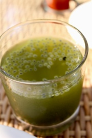 Wheat Grass, Tender Coconut Water & Chia Seed Juice