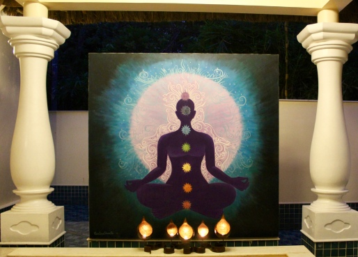 Carnoustie - Spa - Evening - Chakra Painting