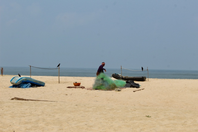 Beach - Fisherman