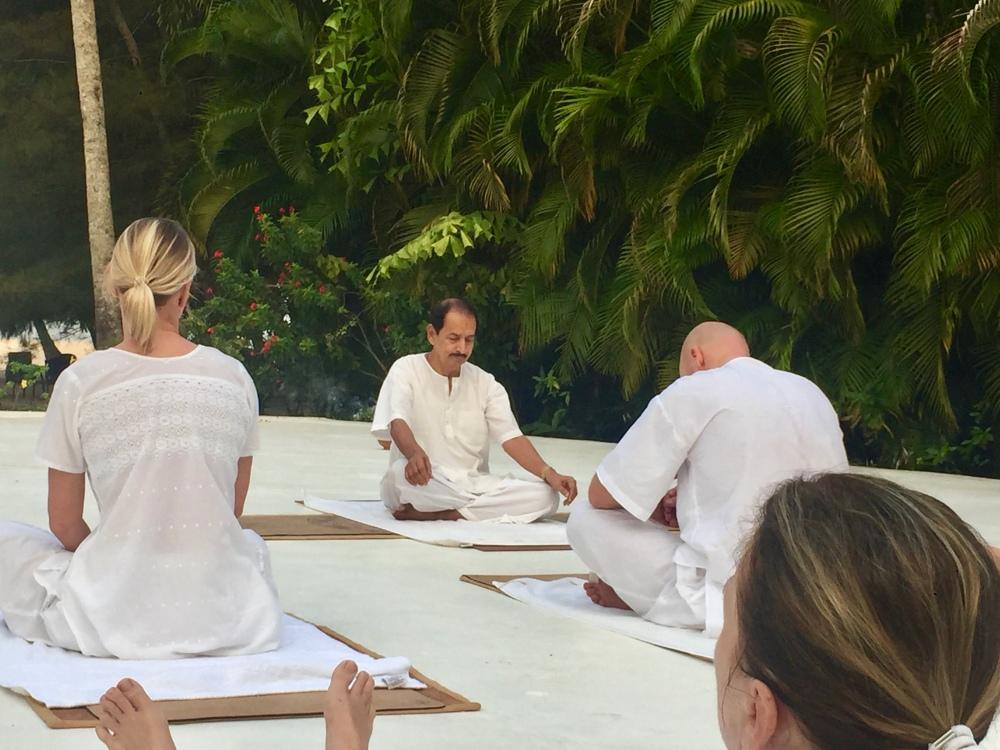 Carnoustie - Dr. Raj - Resident Yoga Professor