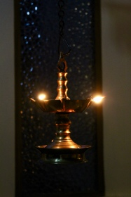 Carnoustie - Spa in Evening - Hanging Candle