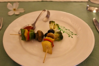 Grilled Vegetable Skewer