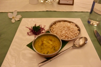Pumpkin and Red Bean Curry with Red Rice