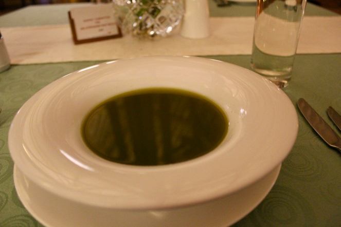 Spinach Shorba