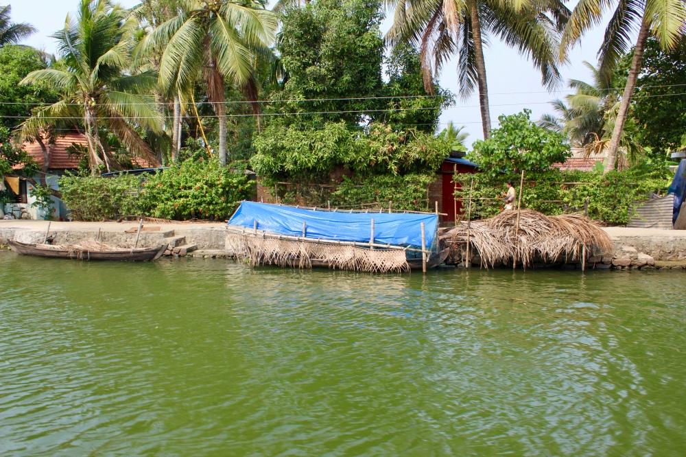 Kerala - Boat Garage!