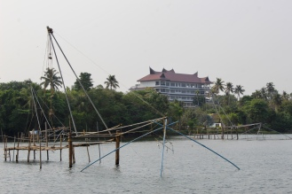 Kerala - Chinese Fishing Net