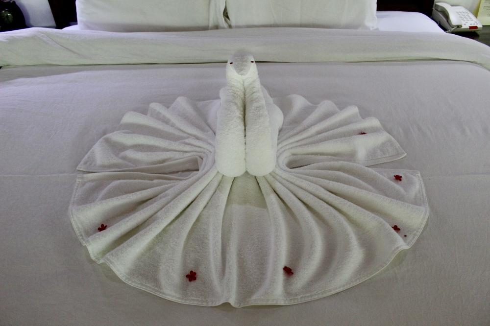 Carnoustie - Towel Swan