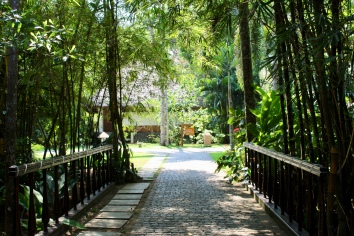 Carnoustie - Grounds - Bridge to Restaurant