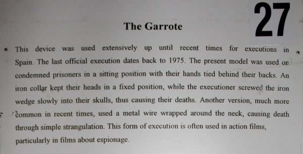 The Garrote