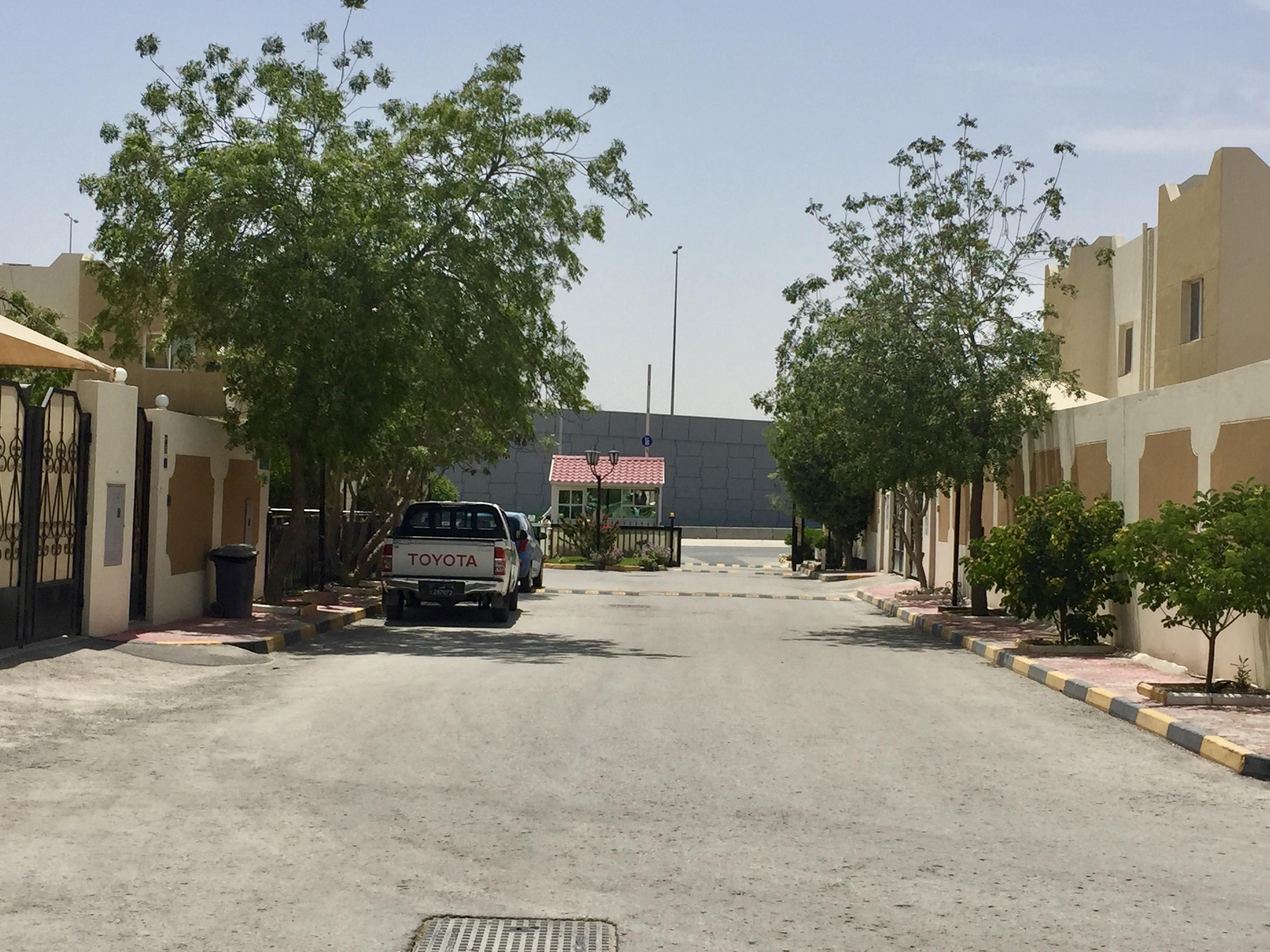 April, 2019 - Doha, Qatar - Al Jazeera Compound I - Main Entrance