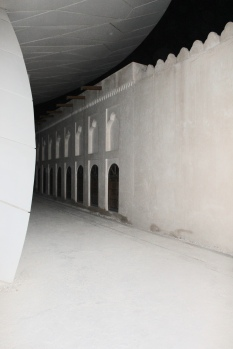 Walkway between the new National Museum and old National Museum
