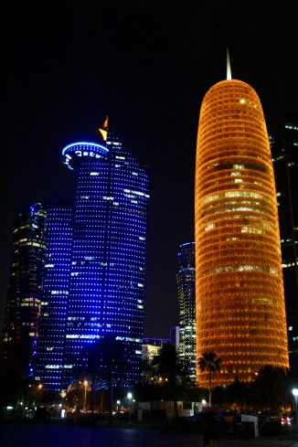 QP Headquarters and Doha Tower