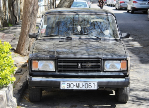 Soviet Union style cars