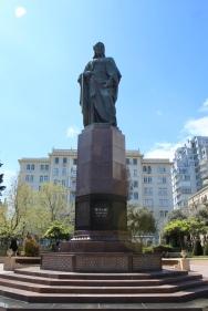 Baku - Statue in a park