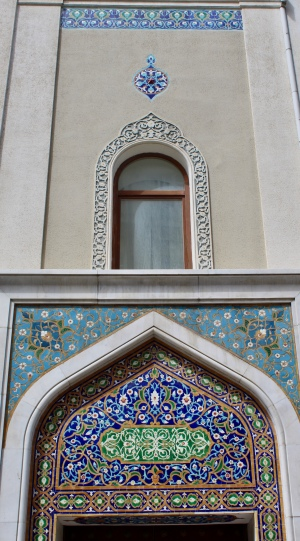 Baku - Buildings and Islamic Architecture.