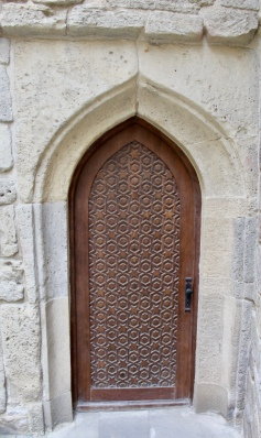 Old City, Baku - Door of Mosque