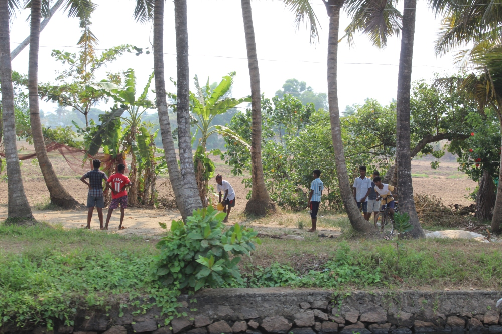 Kerala - Young Boys Playing Soccer