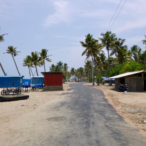 Crossing Chethy Beach Road.